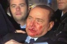 Нападение на Сильвио Берлускони