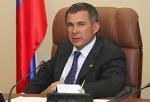 Утверждение кандидатуры Рустама Минниханова