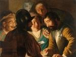 В игроке в карты опознали молодого Рембрандта