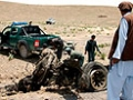Афганские смертники напали на военную базу США