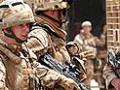 Британские войска в Ираке наблюдали за боями в стороне