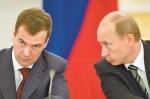 Раскол между Путиным и Медведевым